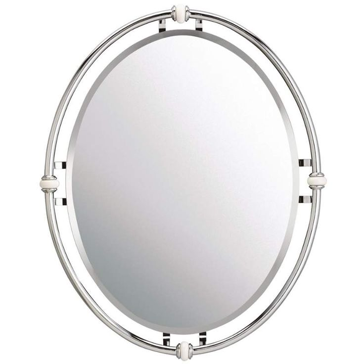 Bathroom Mirror Chrome oval bathroom mirrors. gold vanity mirror mirrored bathroom vanity