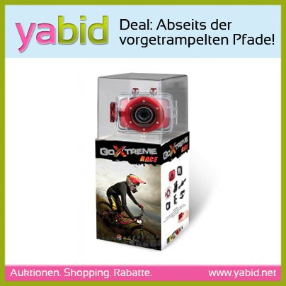 #Deal: Abseits der vorgetrampelten Wege unterwegs? Mit der Easypix GoXtreme Kamera haltet Ihr die schönsten Augenblicke auch in extremen Situationen fest und habt trotzdem beide Hände frei.  Den #Deal findet Ihr natürlich bei Yabid! http://de.yabid.net/Easypix-GoXtreme-Race-Action-Camera-Digitalkamera-TV-Video-Foto-Festpreis-Auktion-8590.html