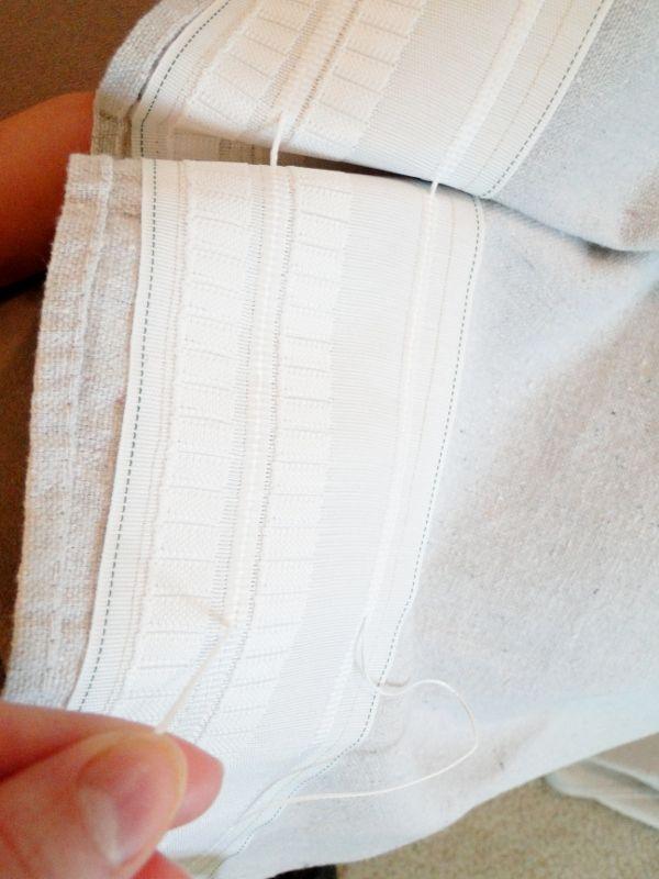 Remodelaholic | Drop Cloth Curtains DIY