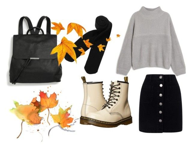 """Fall special"" by eline-storli on Polyvore featuring Dr. Martens, Monki and Miss Selfridge"