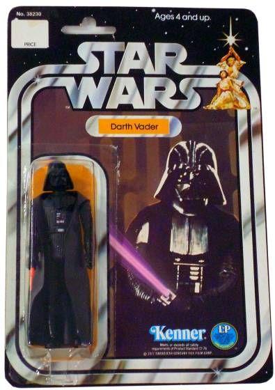 Star Wars, Darth Vader Action Figure, 1977, Kenner