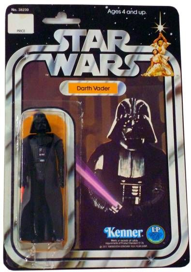 Star Wars, Darth Vader Action Figure, 1977, Kenner