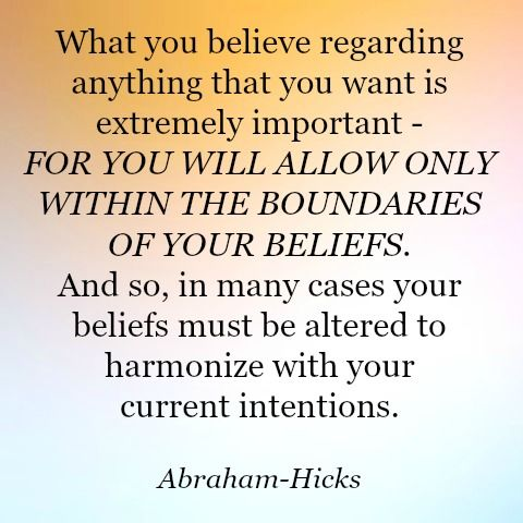 Law of Attraction - Abraham-Hicks Quote
