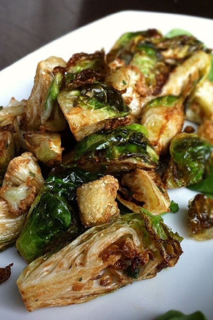 Roasted Cauliflower, Brussels Sprouts and Jerusalem Artichokes Recipe