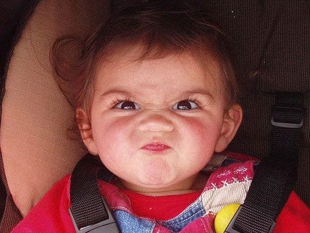 "The Funniest Baby ""Stank Face"" Pictures"