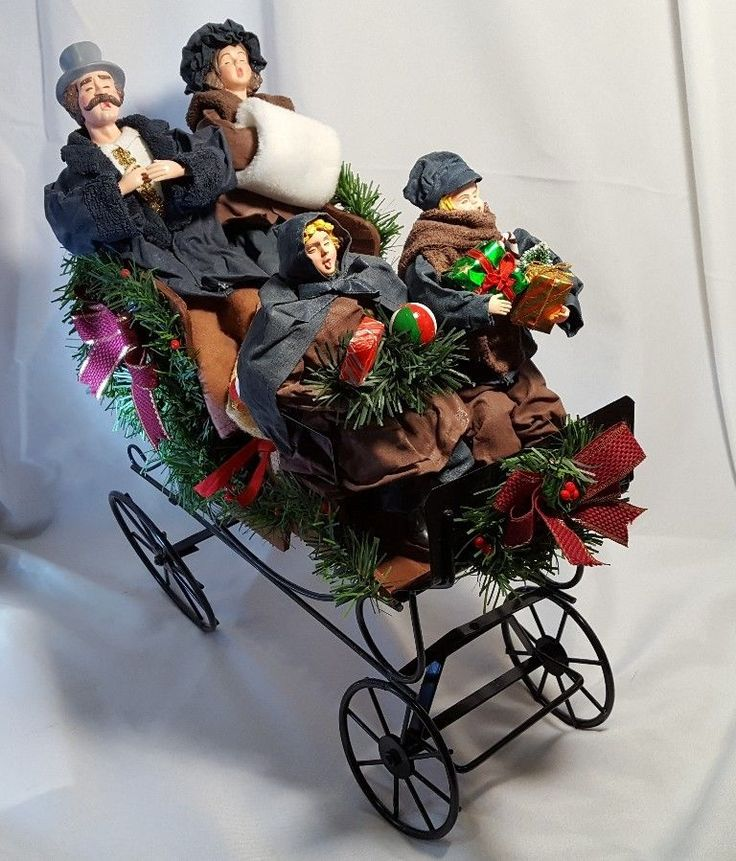 Victorian Christmas Carolers Decorations: Best 111 ♥Christmas Carolers♥ Ideas On Pinterest