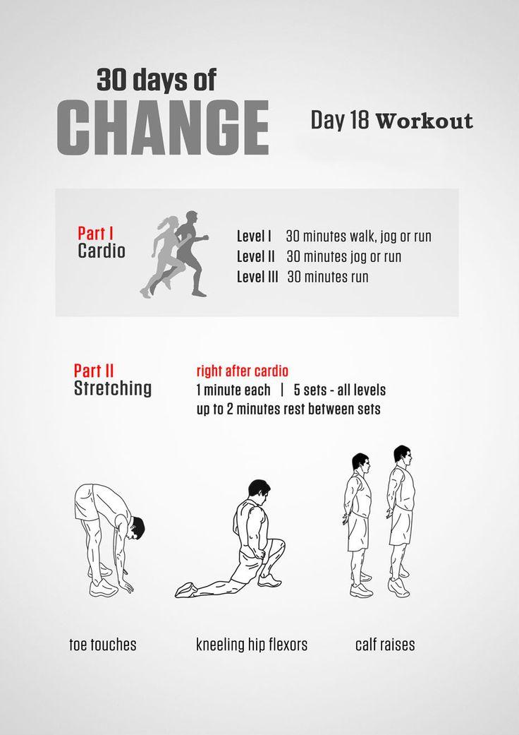 #30DaysOfChange Day 18 Workouts: #30dayschallenge #exercise #fitness #wellness #lifestyle #bodybuilding #musclebuilding #workout #weightloss #bodytransformation