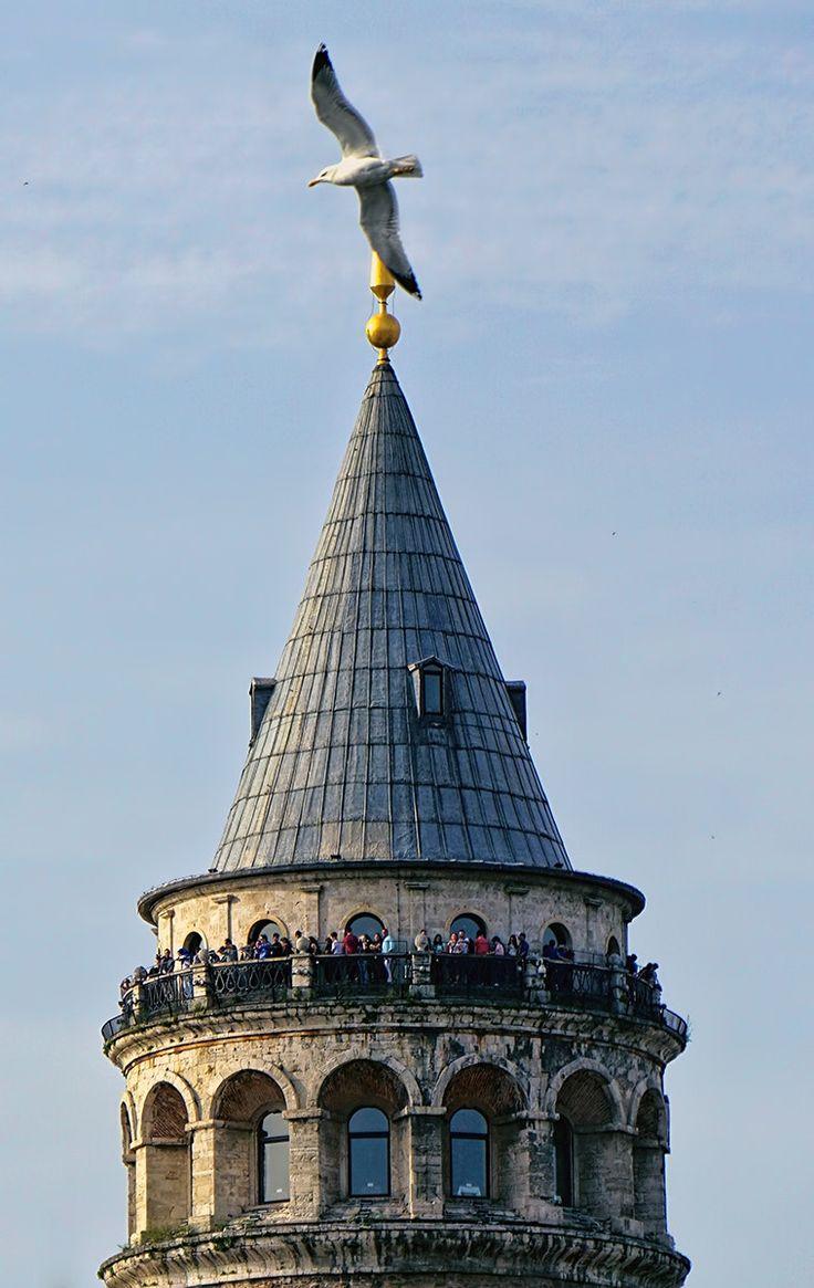 Galata Tower - . . .