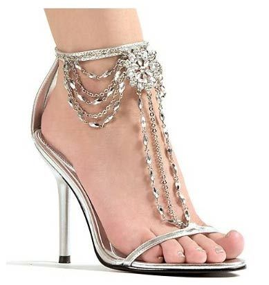 silver heels for prom   How to choose the Shoes to match your Prom Dress - dressesshopping