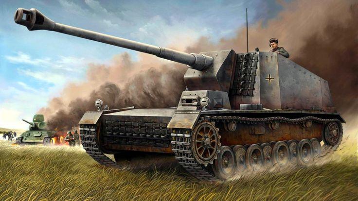 1942 12.8 cm Selbstfahrlafette auf VK30.01(H) Sturer Emil - Vincent Wai