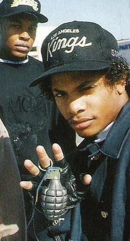 "#Eric ""Eazy-E"" Wright / Dr Dre // www.babesngents.com // #babesngents"