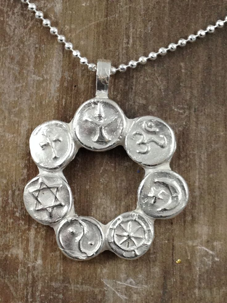 Co Exist Pendant Necklace All The Major Religions Of The World