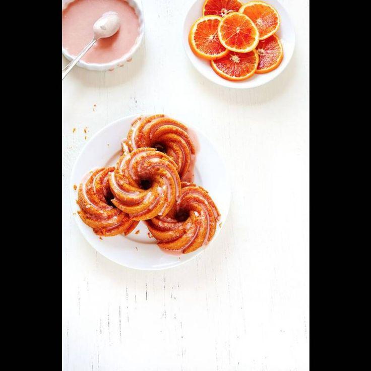 Bundt cake glaçage orange sanguine