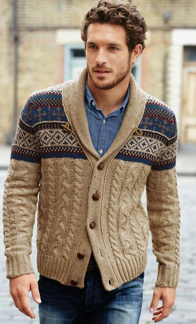 One of the best man cardigans ever!