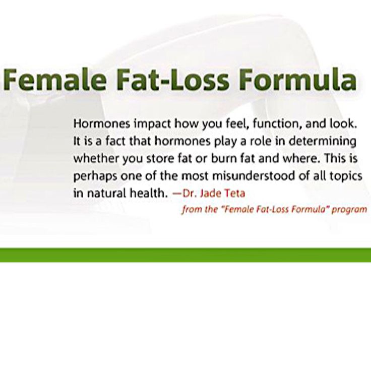 female weight loss hormone