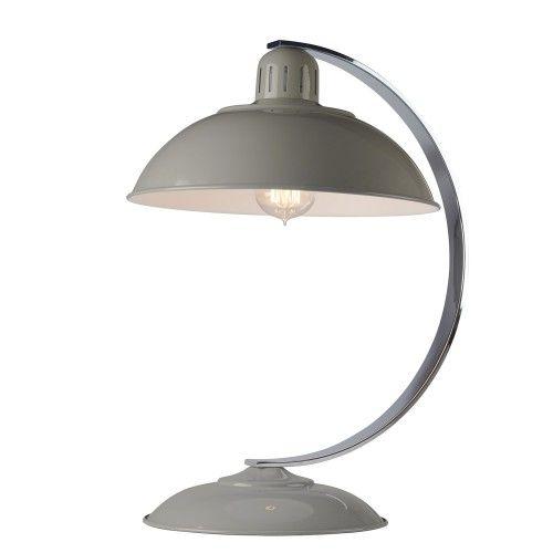 Elstead Franklin Desk Lamp Grey
