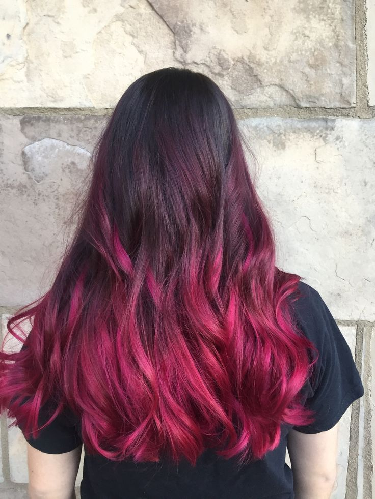 Fabulous Fuschia, Balayage Ombre, Beauty By Allison, Fort Collins Hair, Salon Salon-Fort Collins