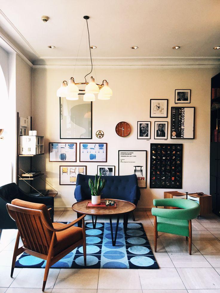 The retro-chic vibe of Copenhagen's Hotel Alexsandra