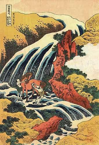 Katsushika Hokusai. El arte oriental es un gran desconocido para nosotros. Es una verdadera pena, ya que hay grandes artistas y grandes y singulares obras más allá de nuestras fronteras.