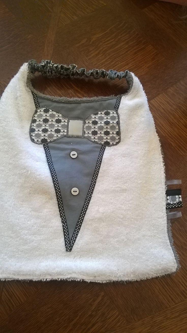 bavoir chic pour garcon de 6 mois a 2 ans : Mode Bébé par c-mipolekfait