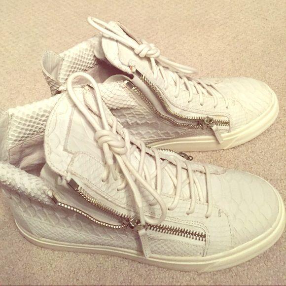 Guiseppe Zanotti Python sneakers Python Giuseppe sneakers Giuseppe Zanotti Shoes Sneakers