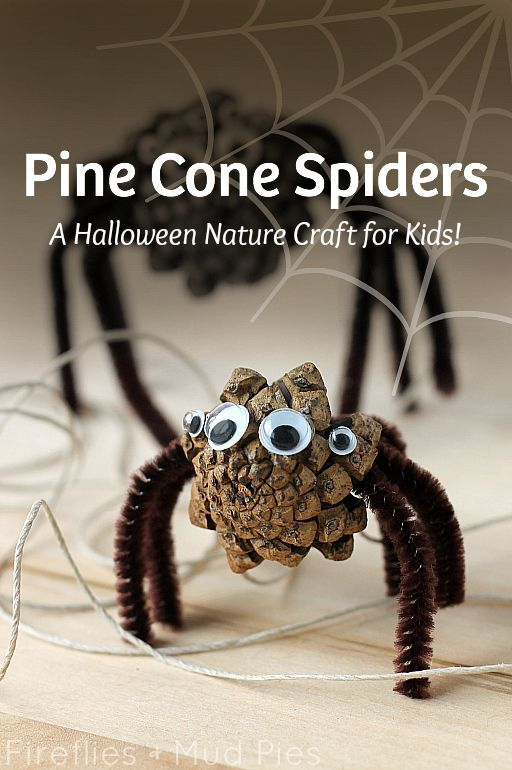 Pine-Cone-Spiders-A-Halloween-Nature-Craft-for-Kids-—-Fireflies-and-Mud-Pies
