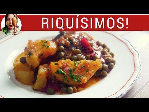(14) BIFES A LA CRIOLLA: cena rápida, fácil... ¡y sin ensuciar!!! - YouTube