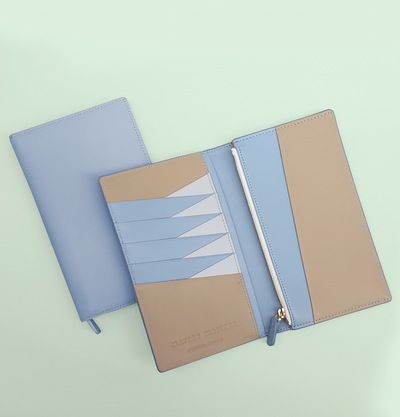 Image of The M Long Wallet - Baby Blue