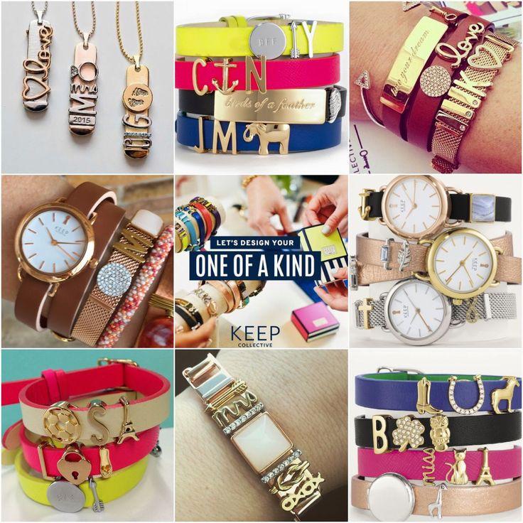 KEEP Collective bracelets. SO CUTE!