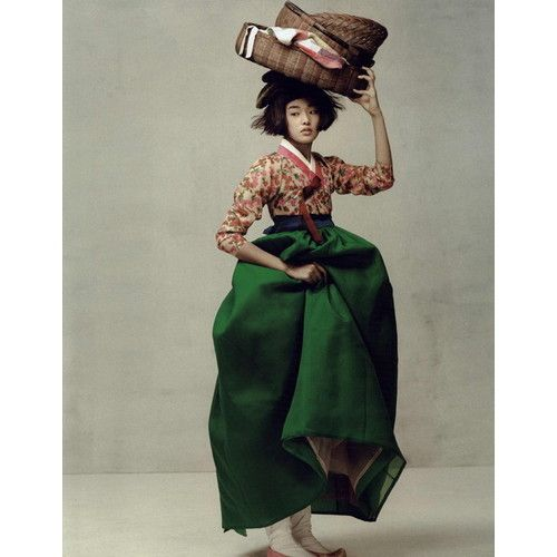 Vogue Korea 15 Years Editorial Ogh Sang Sun