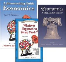 Whatever Happened to Penny Candy? Economics book & workbook (guide).
