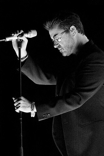 George Michael. Briton. First, Careless Whisper. Then, falling in love with your euphonious voice until T.O.D.A.Y :)