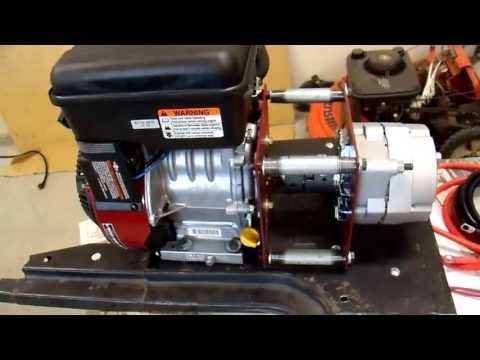 DIY 12V Generator Charger - 10 Demonstration and How to Build - YouTube