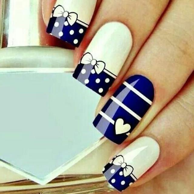 Mejores 69 imágenes de uñas en Pinterest | Uñas bonitas, Arte de ...