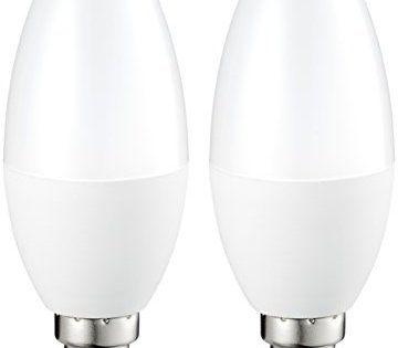 AmazonBasics LED E14 Small Edison Screw Candle Bulb, 5.5W (equivalent to 40W): D'une durée de vie de 15000heures, l'ampoule fonctionnera…