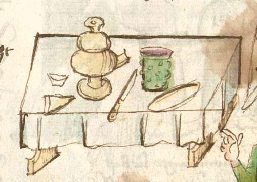 Thomasin : Der welsche Gast Schwaben, 3. Viertel 15. Jh. Cgm 571  Folio 80