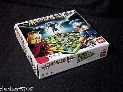 LEGO MINOTAURUS GAME AGES 7 PLUS 2-4 PLAYERS ORIGINAL BOX INCOMPLETE 2010