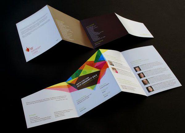 Cool brochure format & colours