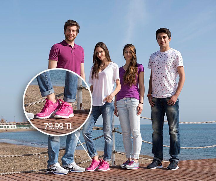 Spor ayakkabı bir yaşam tarzı: #baharseniçağırıyor #ritimtutanayakkabilar #yenisezon #ilkbaharyaz #newseason #yeni #new #fashion #fashionable #style #stylish #flo #floayakkabi #shoe #ayakkabı #shop #shopping #sports #training #ss15 #summerspring