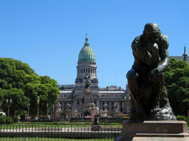 Plaza del Congreso. Buenos Aires, Argentina.