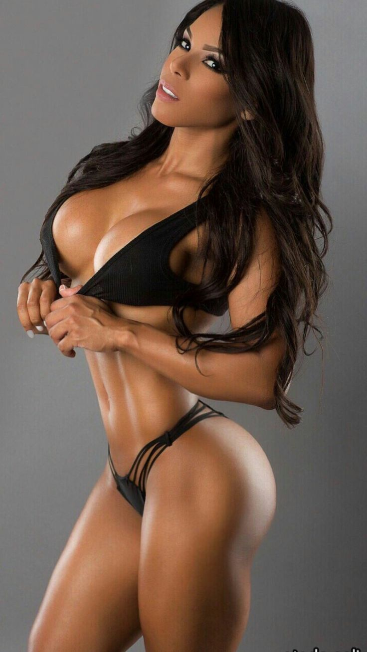 Hot nude female fitness models — 8