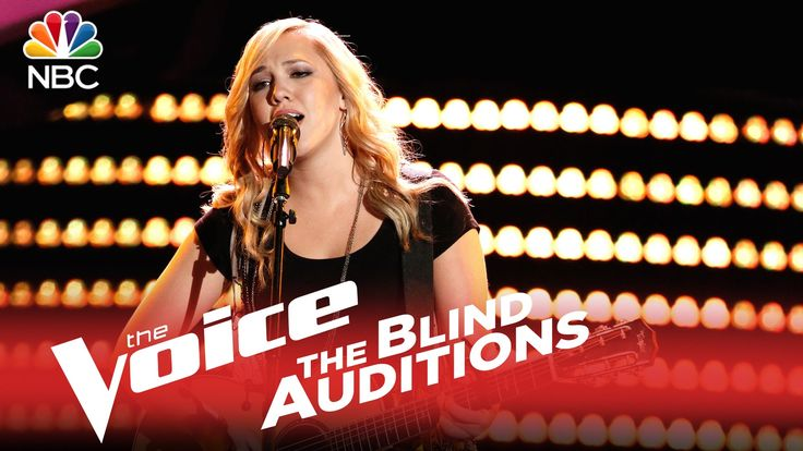 """The Voice 2015 Blind Audition - Morgan Frazier: """"I Want You to Want Me"""""""