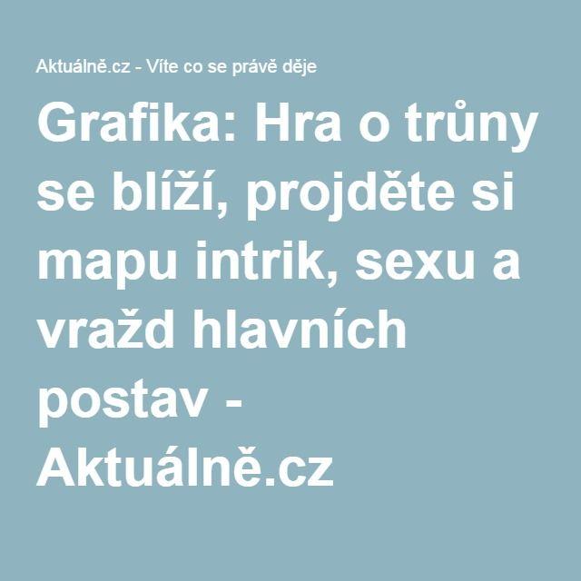Grafika: Hra o trůny se blíží, projděte si mapu intrik, sexu a vražd hlavních postav - Aktuálně.cz