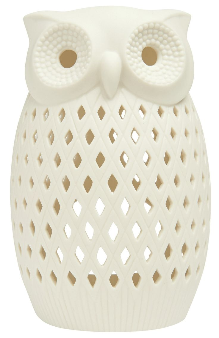 Ornamental owl  - lovely tea light holder