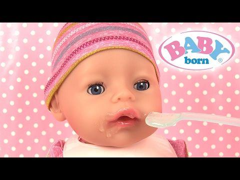 Poupée Baby Born Fille Poupon Interactif Pleure Fait Pipi - YouTube
