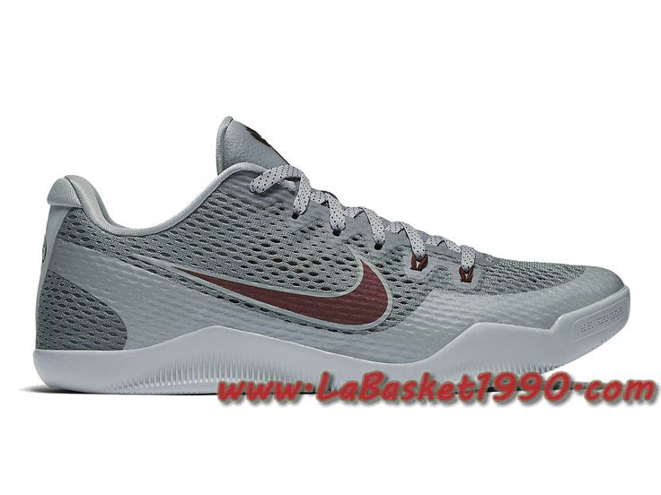 Nike Kobe 11 Aces 836183-006 Chaussures Nike Basket Pas Cher Pour Homme Gris
