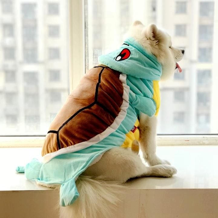 d7d2217230b7 Squirtle Wartortle Pokemon Go XS-7XL Cute Costume for Dog