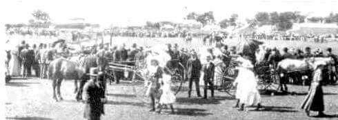 Koroit show grounds, High Street, Koroit, Victoria Australia.