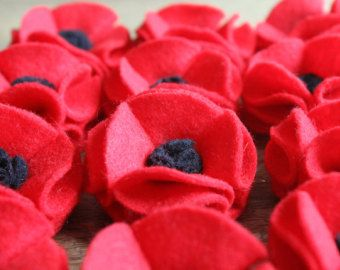 Remembrance Poppy Brooch - Donation to chairty