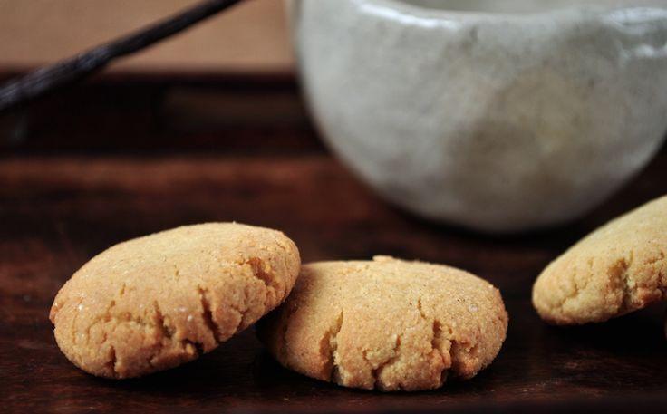 Recette sans gluten : Biscuits à la poudre d'amande.  Simples et rapides à préparer !